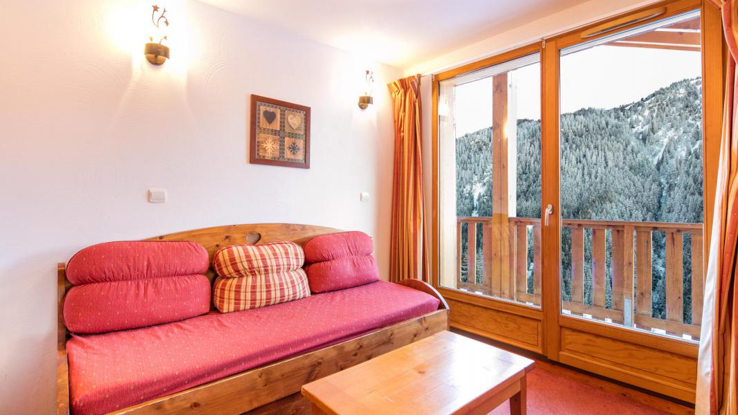 Urlaub in den Bergen Résidence les Chalets de la Ramoure - Valfréjus - Wohnzimmer