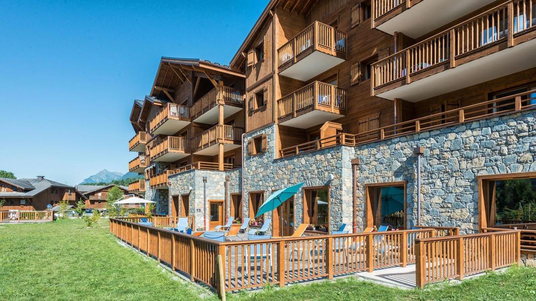 Urlaub in den Bergen Résidence les Chalets de Layssia - Samoëns - Draußen im Sommer