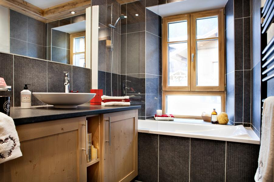 Urlaub in den Bergen Résidence les Chalets de Layssia - Samoëns - Badezimmer