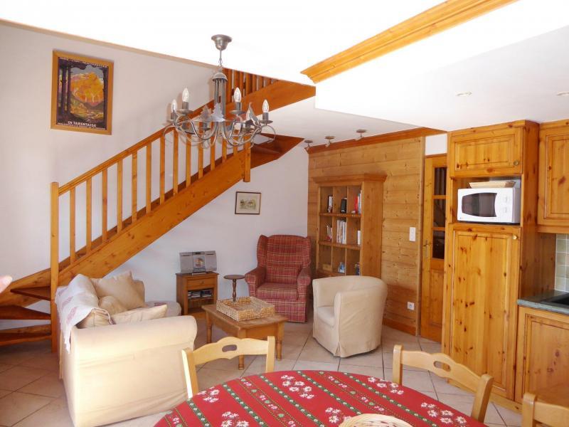 Vacaciones en montaña Apartamento 5 piezas mezzanine para 6 personas (11) - Résidence les Chalets de Napremont - Pralognan-la-Vanoise - Alojamiento