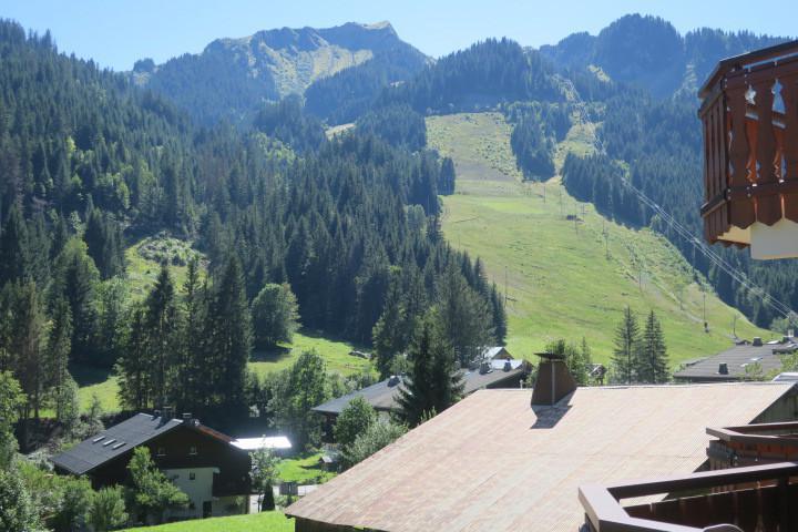 Location au ski Appartement 2 pièces 6 personnes (A18) - Résidence les Chalets de Perthuis - Châtel - Extérieur été