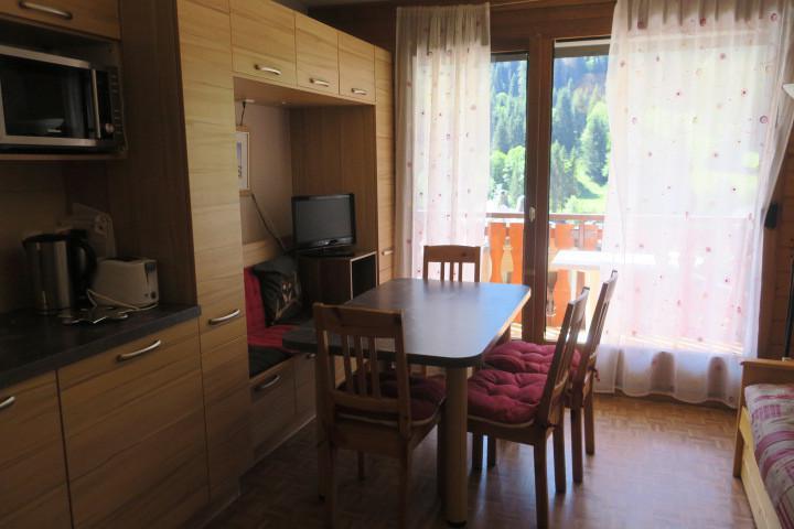 Vacances en montagne Appartement 2 pièces 4 personnes (B18) - Résidence les Chalets de Perthuis - Châtel - Séjour