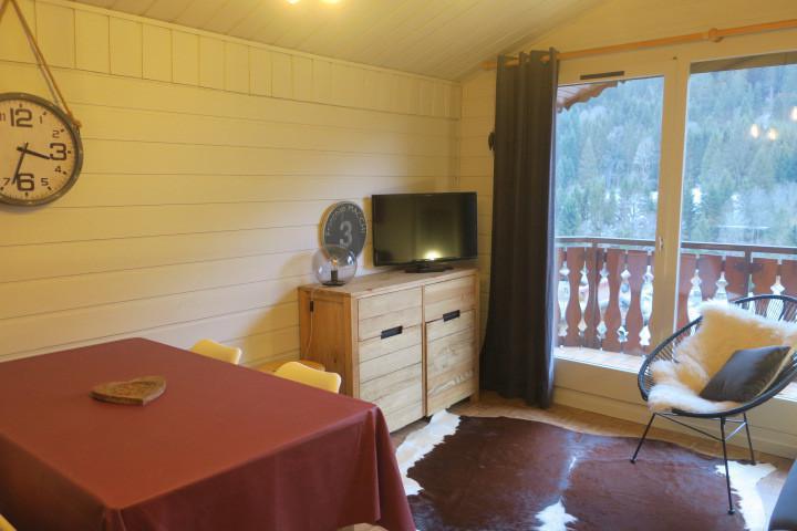 Vacances en montagne Appartement 2 pièces 5 personnes (B24) - Résidence les Chalets de Perthuis - Châtel - Canapé