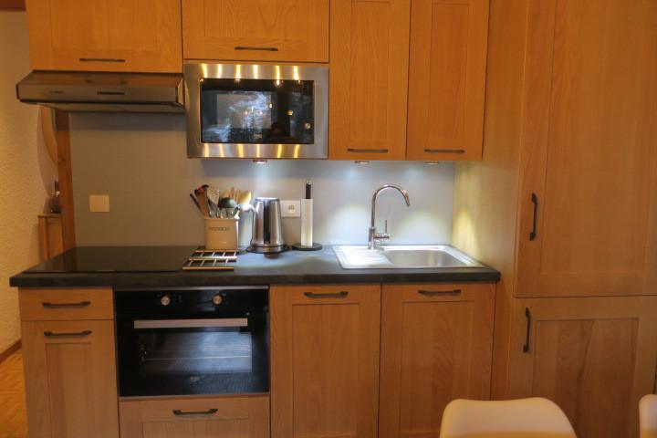 Vacances en montagne Appartement 2 pièces 5 personnes (B24) - Résidence les Chalets de Perthuis - Châtel - Kitchenette