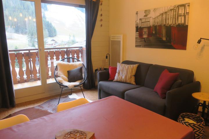Vacances en montagne Appartement 2 pièces 5 personnes (B24) - Résidence les Chalets de Perthuis - Châtel - Séjour