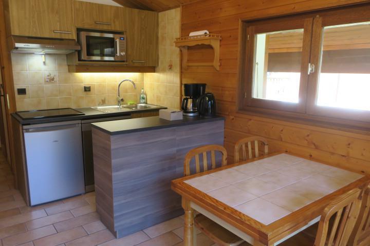 Vacances en montagne Appartement 2 pièces 6 personnes (A18) - Résidence les Chalets de Perthuis - Châtel - Coin repas