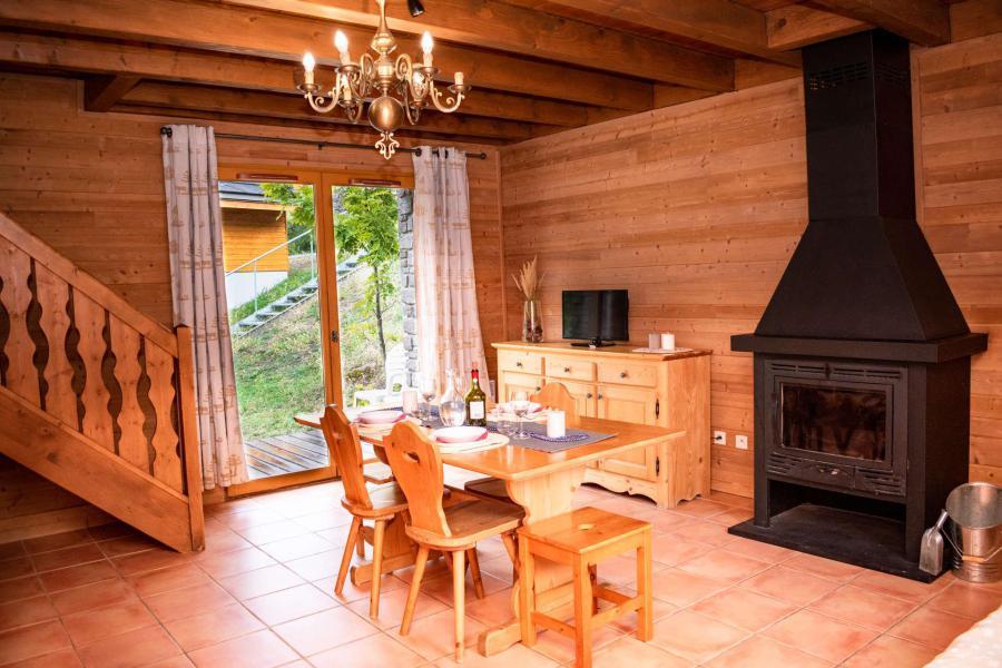 Vacances en montagne Chalet duplex mitoyen 3 pièces 6 personnes (0017D) - Résidence Les Chalets de Praroustan - Pra Loup