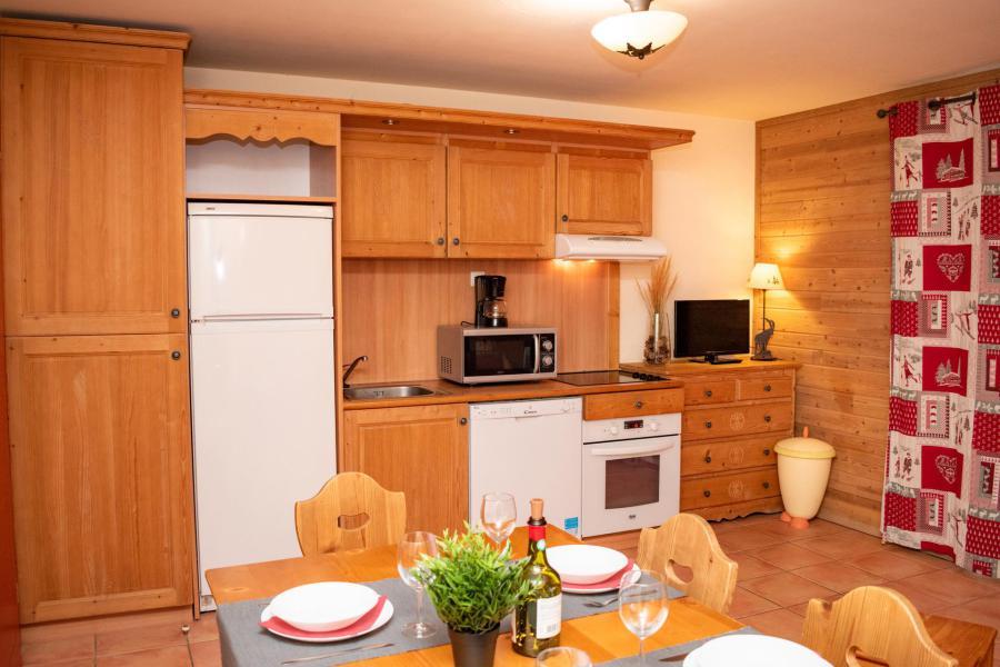 Vacances en montagne Studio cabine 6 personnes (00G02) - Résidence Les Chalets de Praroustan - Pra Loup