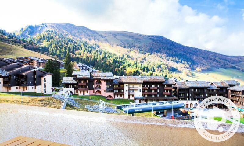 Vacances en montagne Appartement 2 pièces 5 personnes (Sélection 32m²) - Résidence les Chalets de Valmorel - Maeva Home - Valmorel - Extérieur été