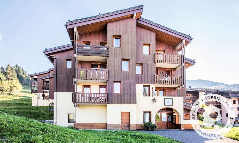 Vacances en montagne Studio 4 personnes (Sélection 28m²) - Résidence les Chalets de Valmorel - Maeva Home - Valmorel - Extérieur été