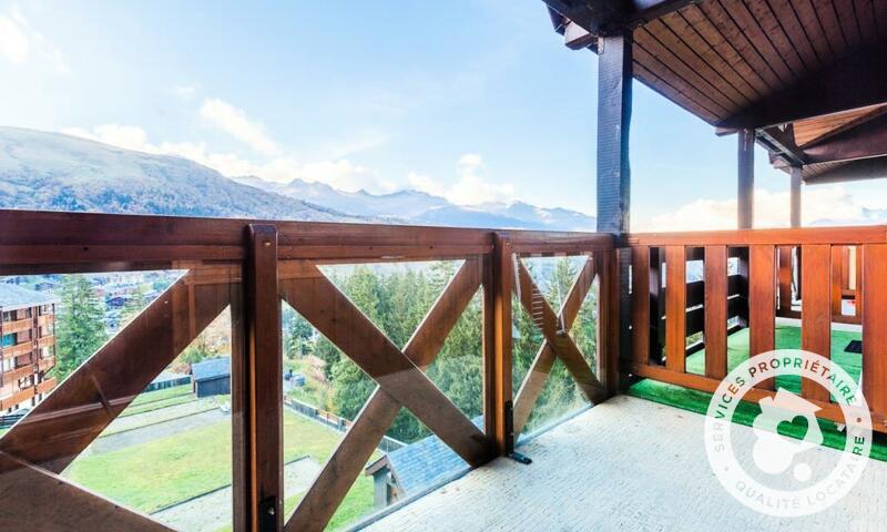 Vacances en montagne Appartement 2 pièces 6 personnes (Sélection 40m²) - Résidence les Chalets de Valmorel - Maeva Home - Valmorel - Extérieur été