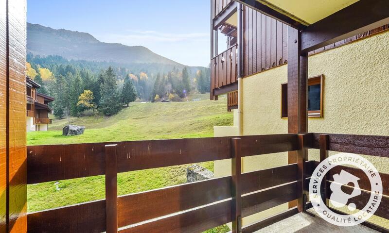 Vacances en montagne Studio 4 personnes (Sélection 28m²-1) - Résidence les Chalets de Valmorel - Maeva Home - Valmorel - Extérieur été