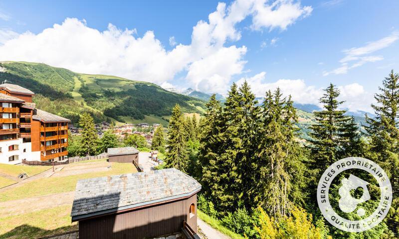 Vacances en montagne Appartement 2 pièces 5 personnes (Sélection 32m²-2) - Résidence les Chalets de Valmorel - Maeva Home - Valmorel - Extérieur été