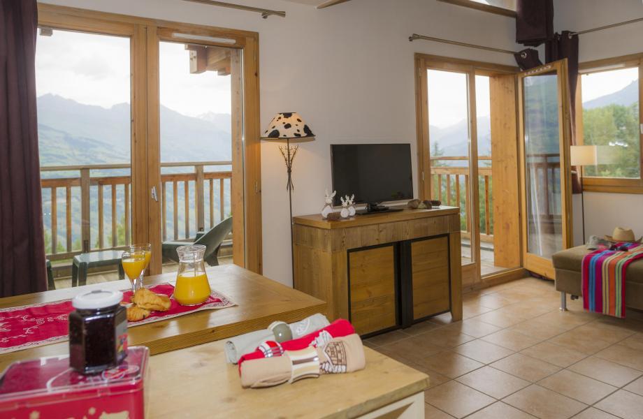 Vacances en montagne Résidence les Chalets de Wengen - Montchavin La Plagne - Tv