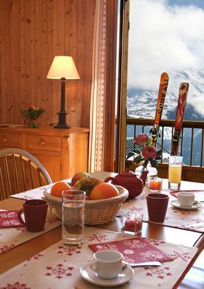 Vacances en montagne Appartement 2 pièces 3 personnes - Residence Les Chalets Des Cimes - La Toussuire - Séjour