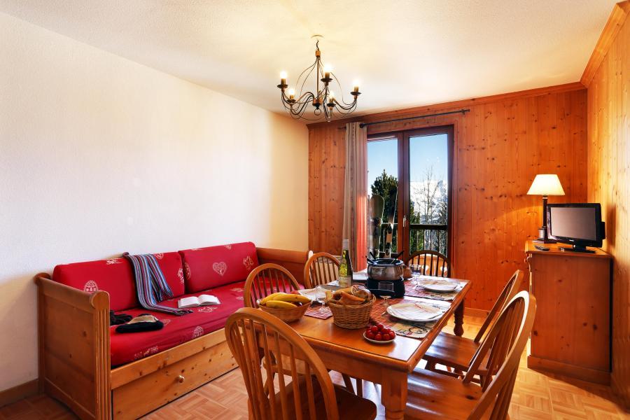 Urlaub in den Bergen Résidence les Chalets des Cimes - La Toussuire - Einfache Klappschlafcouch