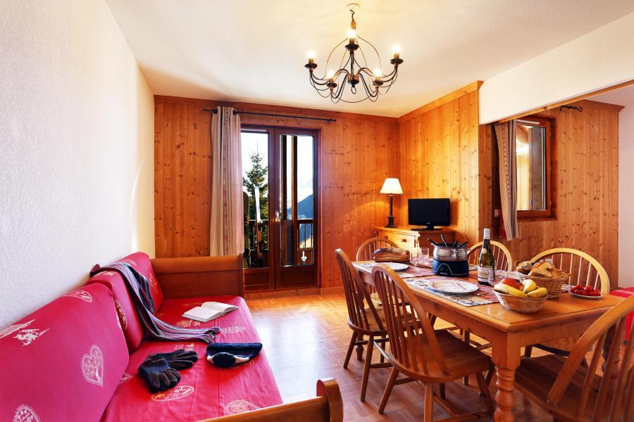 Urlaub in den Bergen Résidence les Chalets des Cimes - La Toussuire - Sofa