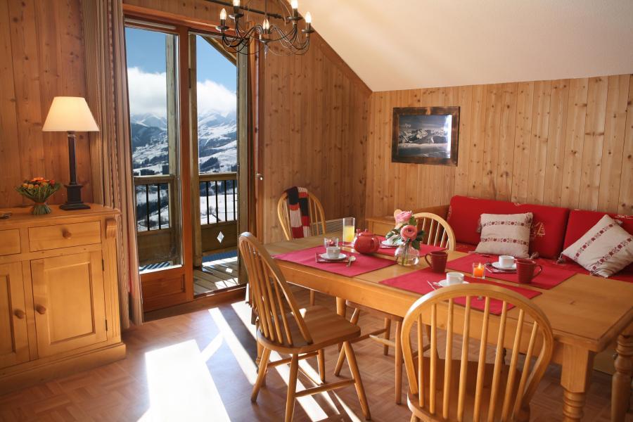 Urlaub in den Bergen Résidence les Chalets des Cimes - La Toussuire - Wohnzimmer