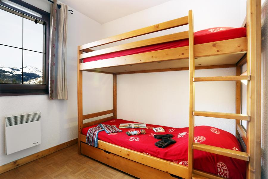 Holiday in mountain resort Résidence les Chalets des Evettes - Flumet - Bunk beds
