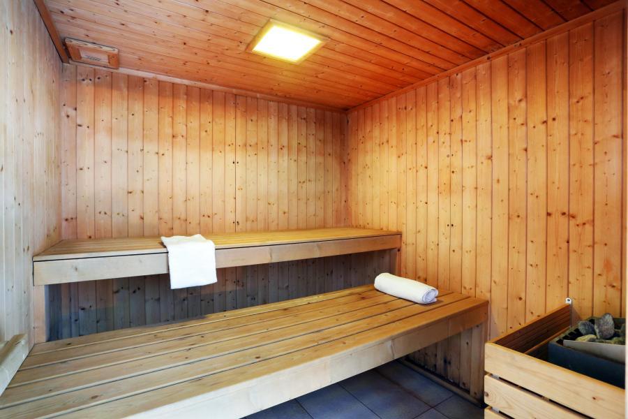 Vacances en montagne Residence Les Chalets Des Evettes - Flumet - Sauna