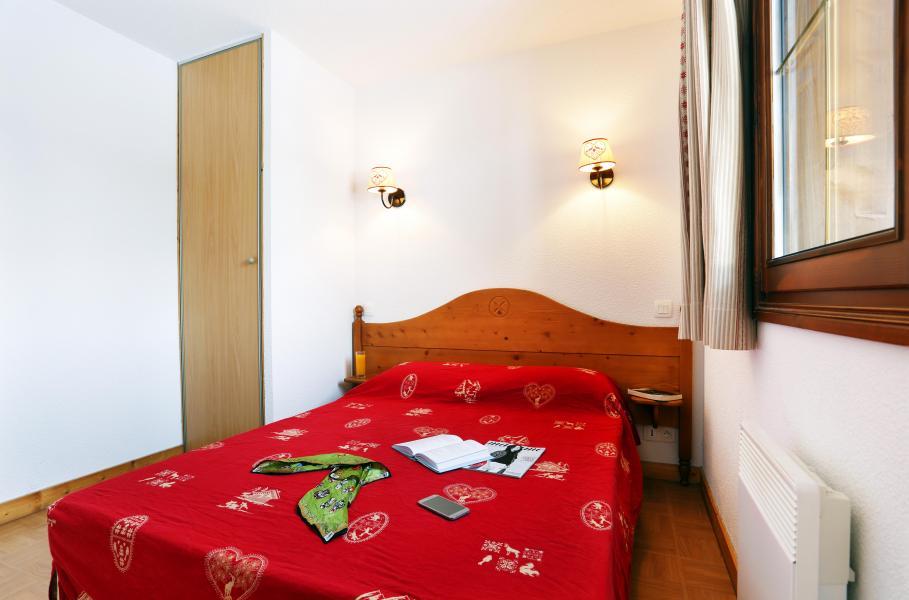 Urlaub in den Bergen Résidence les Chalets des Evettes - Flumet - Schlafzimmer