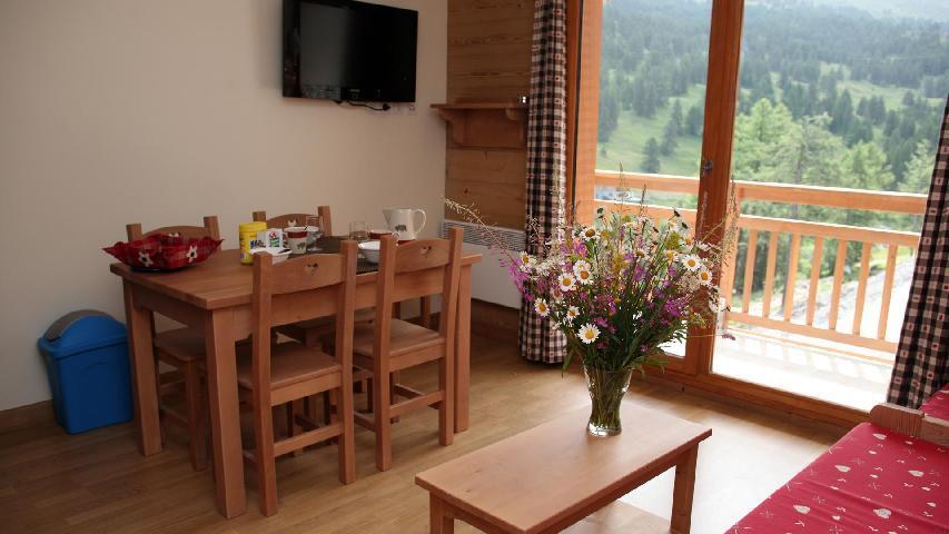 Vakantie in de bergen Appartement 2 kamers 4 personen (001) - Résidence les Chalets des Rennes - Vars - Verblijf