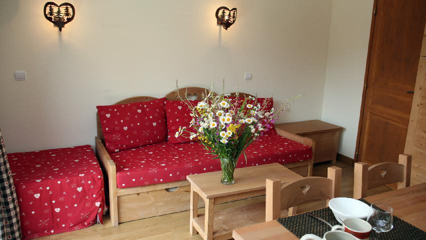 Vacances en montagne Appartement 2 pièces 4 personnes - Résidence les Chalets des Rennes - Vars - Logement