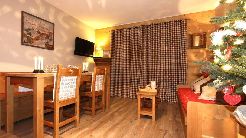 Vakantie in de bergen Appartement duplex 2-3 kamers 6 personen (002) - Résidence les Chalets des Rennes - Vars - Verblijf