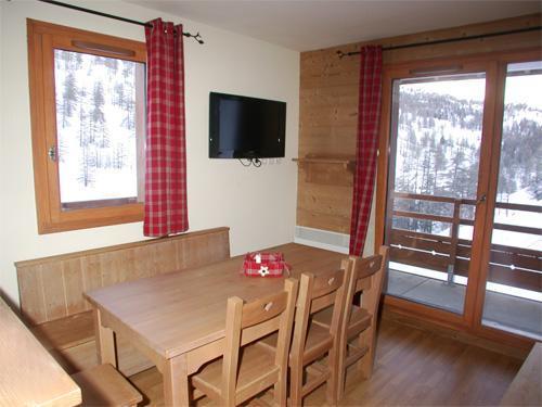 Vakantie in de bergen Appartement duplex 2-3 kamers 6 personen (002) - Résidence les Chalets des Rennes - Vars - Raam
