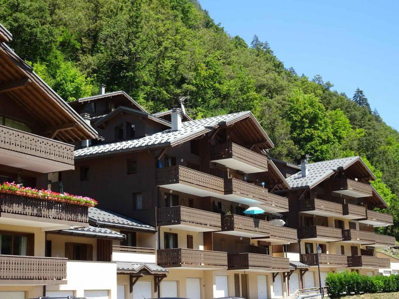 Vacaciones en montaña Résidence les Chalets du Ponthier - Courchevel - Verano
