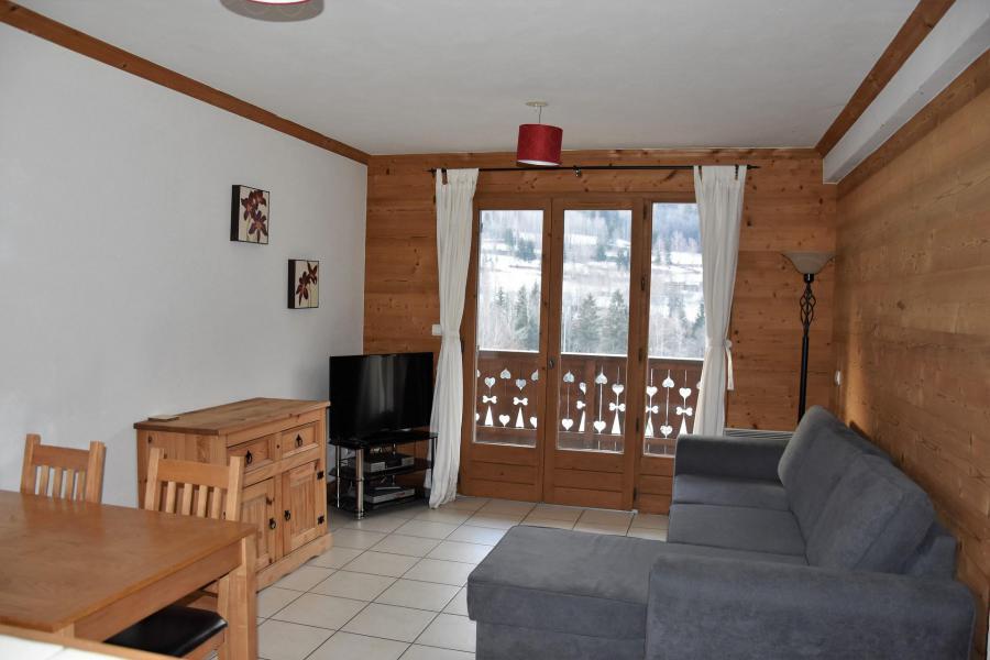 Wakacje w górach Apartament 2 pokojowy 4 osób (D2) - Résidence les Chalets du Ponthier - Courchevel - Pokój gościnny