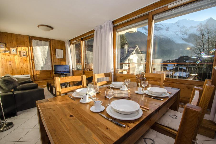 Vacances en montagne Appartement 3 pièces 6 personnes (Lavue) - Résidence les Chalets du Savoy - Kashmir - Chamonix - Séjour