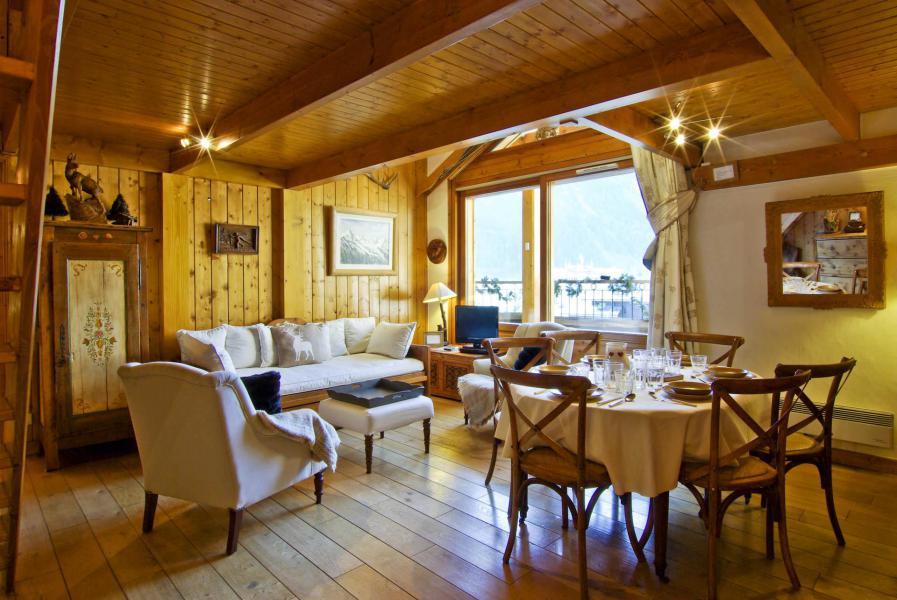 Vacanze in montagna Appartamento 5 stanze 6-8 persone - Résidence les Chalets du Savoy - Orchidée - Chamonix - Alloggio