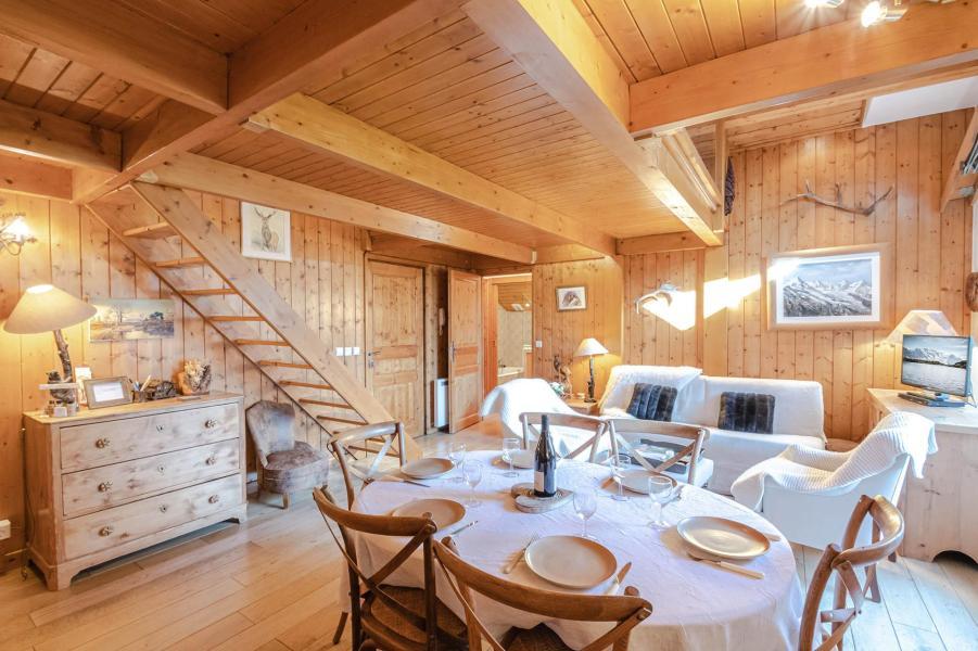 Vacanze in montagna Appartamento 5 stanze 6-8 persone - Résidence les Chalets du Savoy - Orchidée - Chamonix - Soggiorno