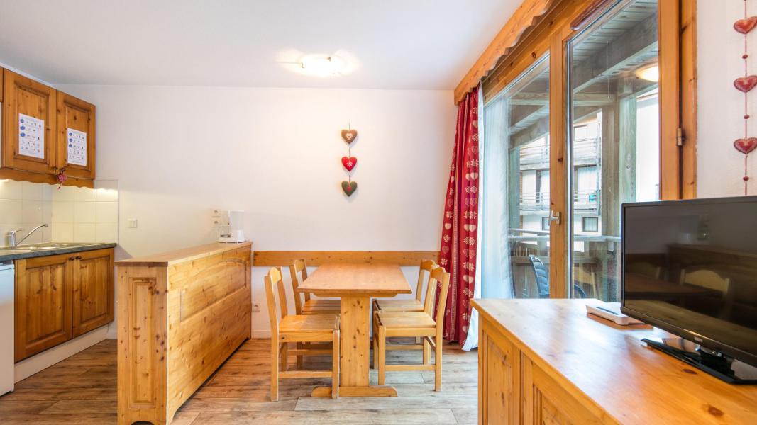 Holiday in mountain resort Résidence les Chalets et Balcons de la Vanoise - La Norma - Dining area