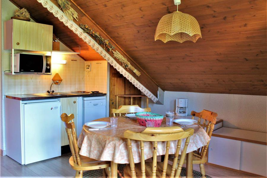 Vacaciones en montaña Estudio -espacio montaña- para 4 personas (67) - Résidence les Chamois - Risoul