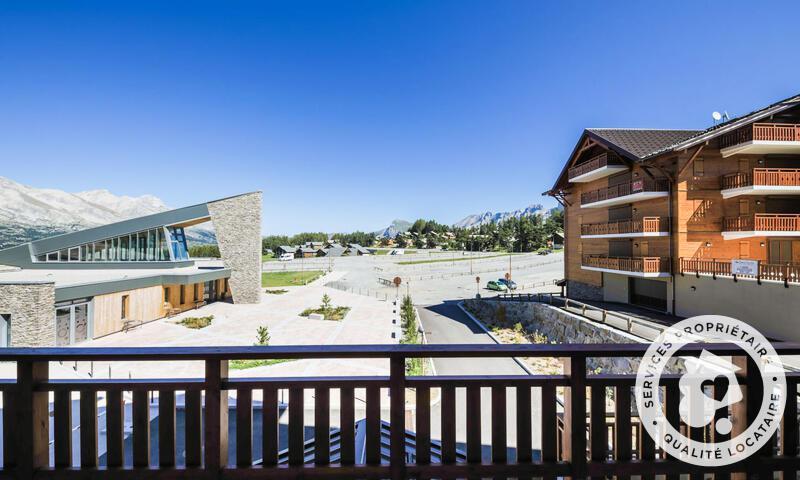 Vacances en montagne Appartement 2 pièces 6 personnes (Sélection 38m²) - Résidence les Chamois - Maeva Home - La Joue du Loup - Extérieur été