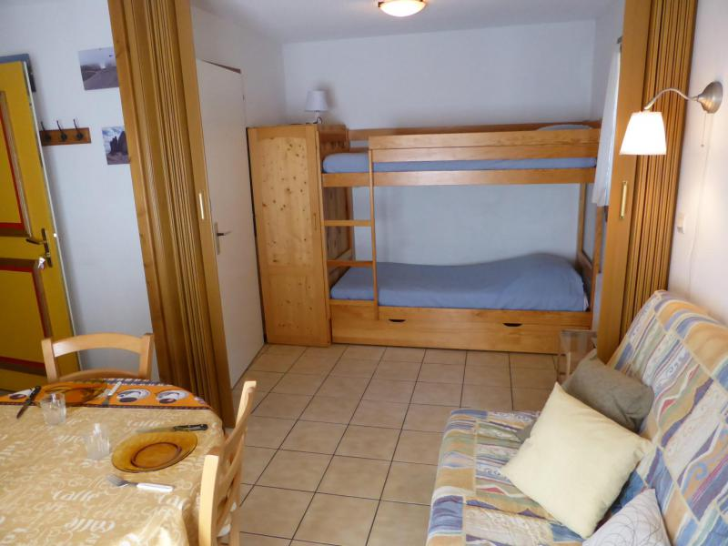 Holiday in mountain resort Studio sleeping corner 4 people (A118) - Résidence les Cimes d'Or - Les Contamines-Montjoie