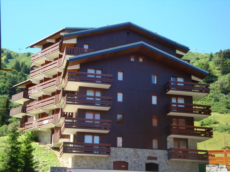 Location au ski Résidence les Cimes I - Méribel-Mottaret - Extérieur été