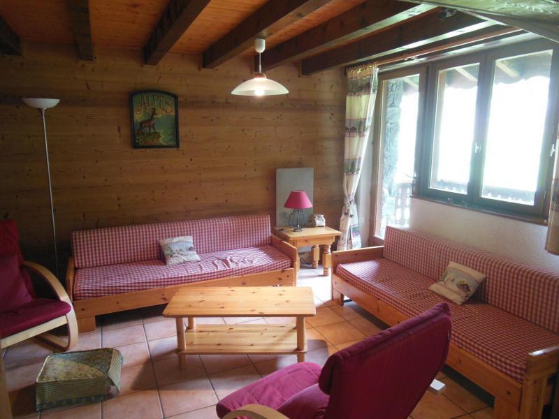 Wakacje w górach Apartament duplex 5 pokojowy 8 osób (A019CL) - Résidence les Clarines - Champagny-en-Vanoise - Pokój gościnny