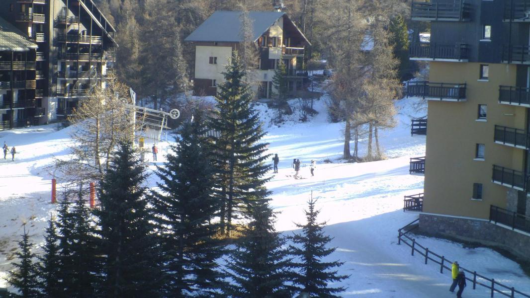 Vacaciones en montaña Estudio mezzanine para 4 personas (221B) - Résidence les Clarines B1 - Risoul