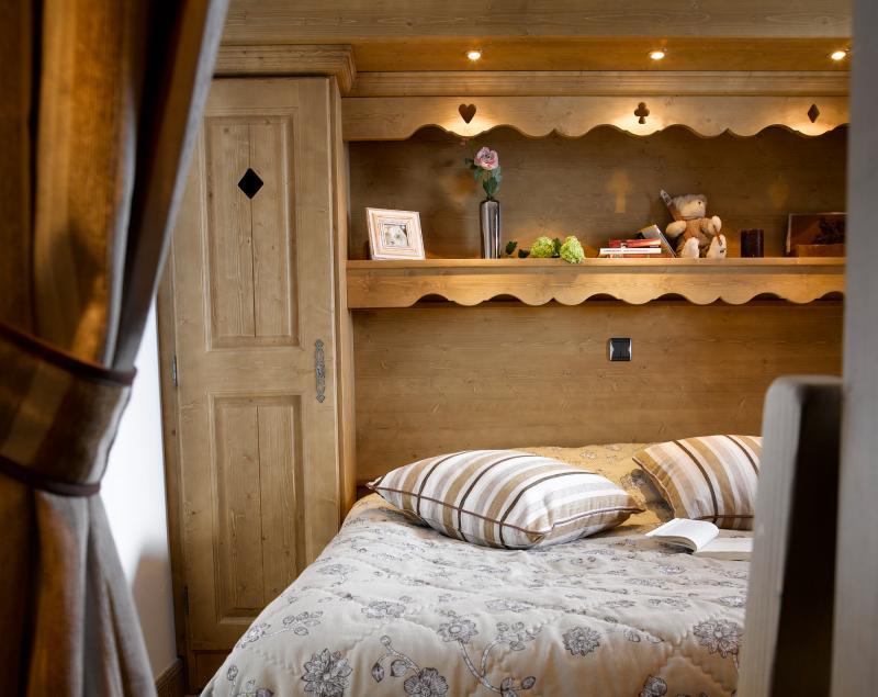 Urlaub in den Bergen Résidence les Clarines - Les Menuires - Schlafzimmer