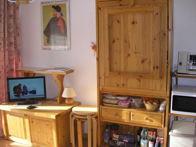 Wakacje w górach Studio kabina 3 osoby (06) - Résidence les Cordeliers - Valloire - Zakwaterowanie