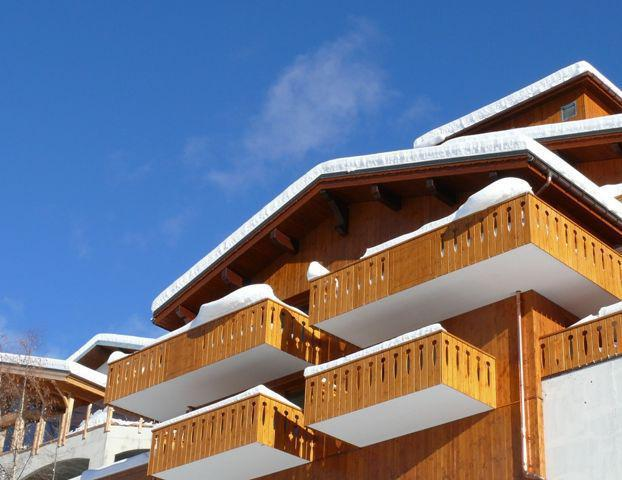 Holiday in mountain resort Résidence les Cordettes - Peisey-Vallandry