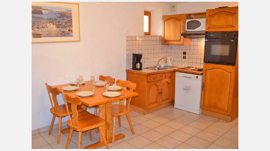Vacances en montagne Appartement 2 pièces 4 personnes (6) - Résidence les Coronilles - Saint Martin de Belleville - Cuisine