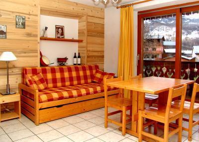 Vacances en montagne Appartement 2 pièces 4 personnes (6) - Résidence les Coronilles - Saint Martin de Belleville - Séjour