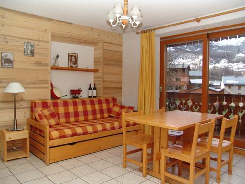Vacances en montagne Appartement 3 pièces 6 personnes (3) - Résidence les Coronilles - Saint Martin de Belleville - Porte-fenêtre donnant sur balcon