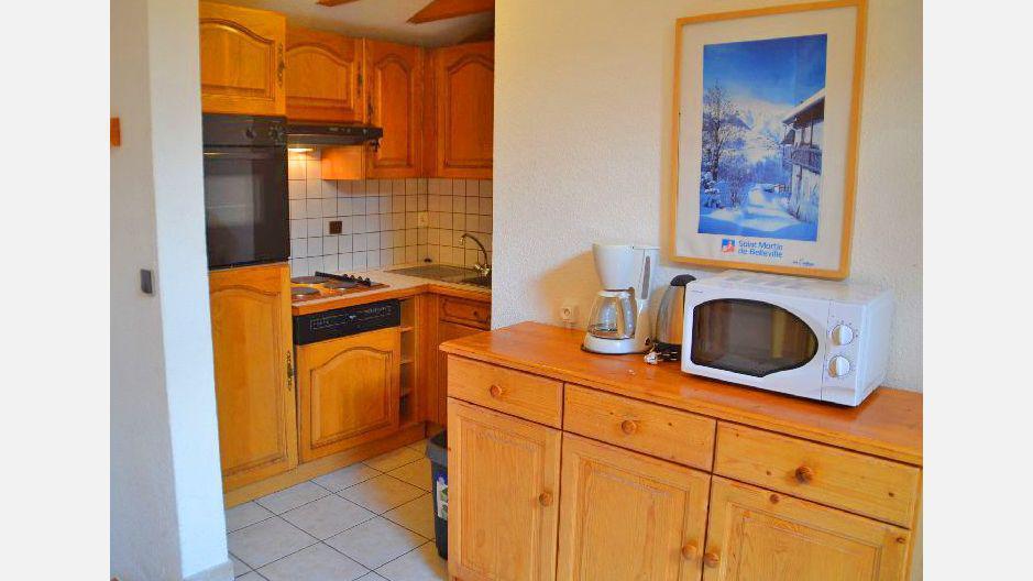 Vacances en montagne Appartement 4 pièces 8 personnes (4) - Résidence les Coronilles - Saint Martin de Belleville - Cuisine