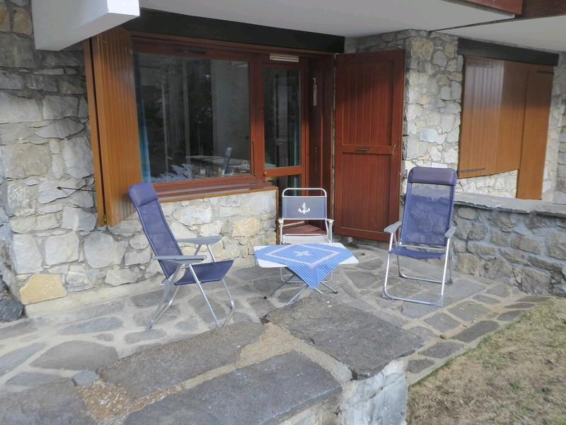 Vacances en montagne Appartement 2 pièces 4 personnes (027) - Résidence les Côtes - Valmorel - Balcon