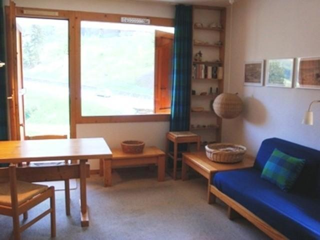 Vacances en montagne Appartement 2 pièces 4 personnes (027) - Résidence les Côtes - Valmorel - Banquette-lit